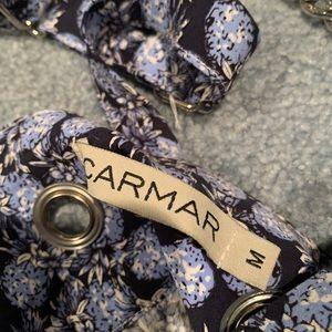 Carmar Other - LF Blue Floral Printed Romper